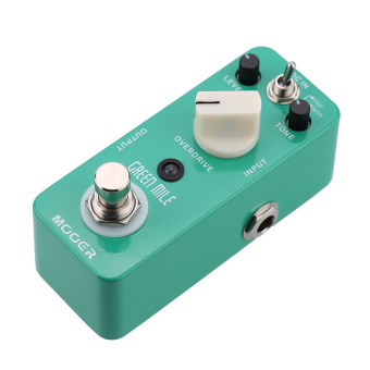 Mooer Green Mile Micro Mini Overdrive Electric Guitar Effect Pedal(Intl) Price Philippines