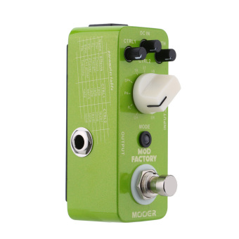 Mooer Mod Factory Micro Mini Electric Guitar Modulation Effect Pedal (Intl)
