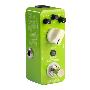 Mooer Mod Factory Modulation Electric Guitar Effects Pedal TrueBypass