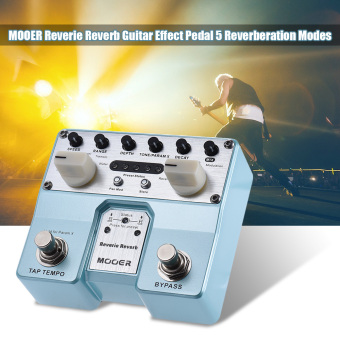 MOOER Reverie Reverb Guitar Effect Pedal 5 Reverberation Modes 5Enhancing Effects with Two Footswitch - intl - 2