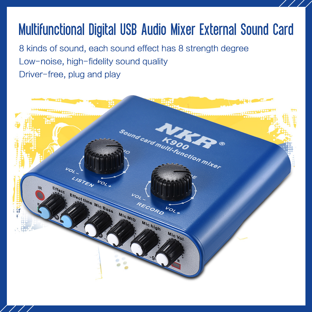 Philippines | Multifunctional Digital USB Audio Mixer External Sound ...