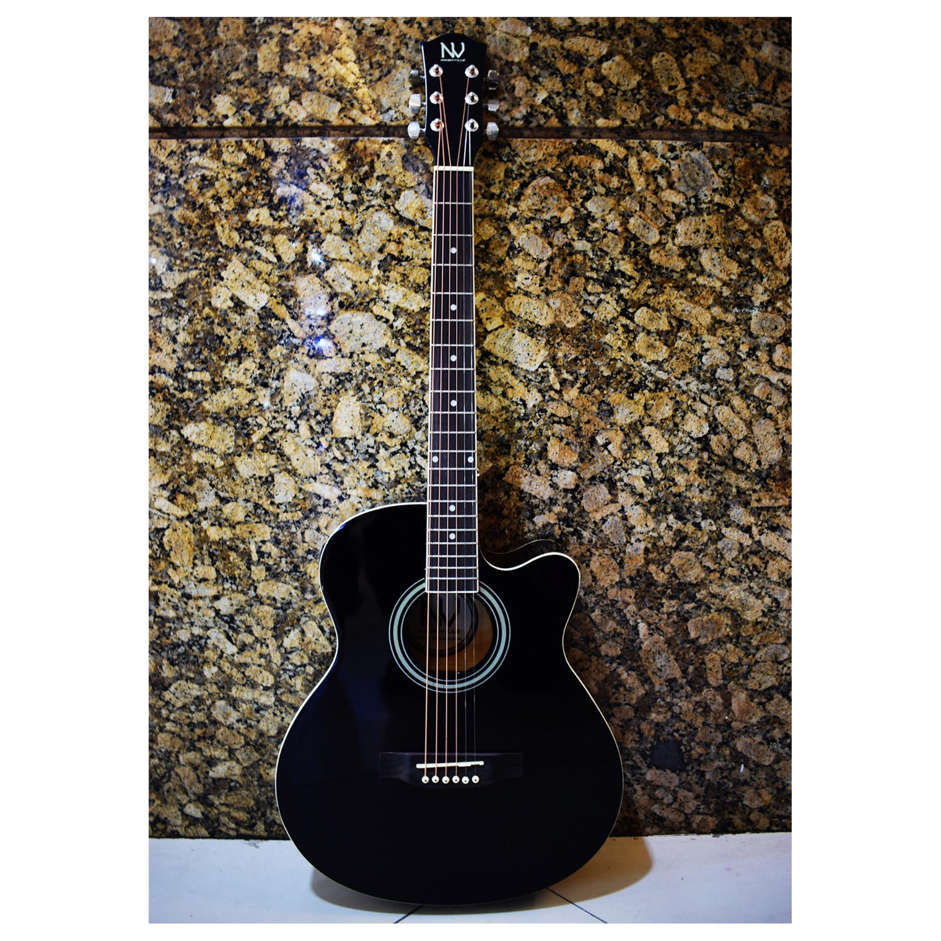 Jh Acoustic 5 Band Eq Equalizer Guitar Preamp Piezo Pickup Amplifier Source · Nashville Acoustic Electric