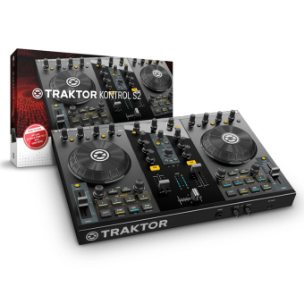 Native Instruments Traktor Kontrol S2 DJ Remix (Black)