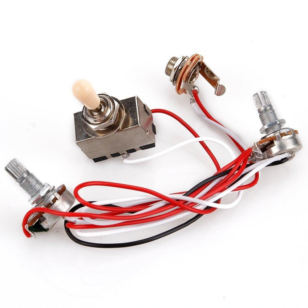 Electric Guitar Wiring Harness Kits Prs Fender On