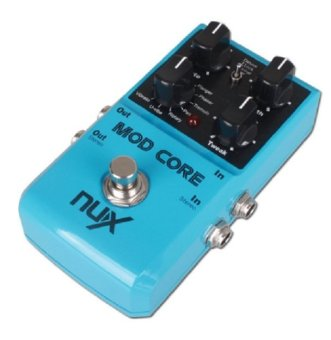 New NUX MOD Core Guitar Effect Pedal 8 Modulation Effects PresetTone Lock