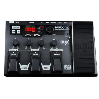 NUX MFX-10 Multi-Effects Processor Guitar Pedal - 2