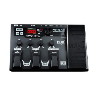 NUX MFX-10 Multi-Effects Processor Guitar Pedal(black) Price Philippines