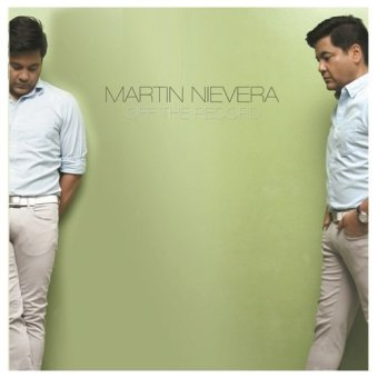 Off The Record by Martin Nievera Vinyl Album (LP)