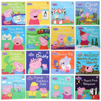 Original Peppa Pig Story Book 17 Books Price Philippines