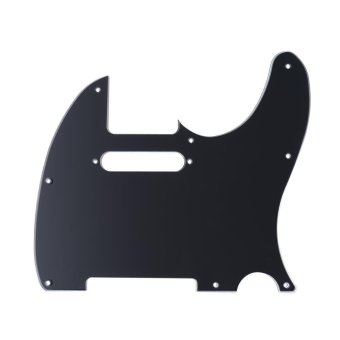 Pickguard Pick Guard 3Ply Construction for Fender TelecasterStandard Modern Style Electric Guitar Black Outdoorfree - intl