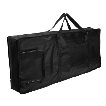 Portable 61-key Keyboard Thick Padded Electric Piano Bag Double Shoulder Case - intl - 3