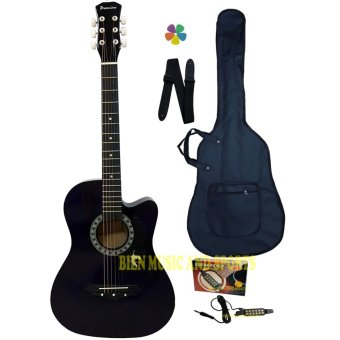Premiere Acoustic Guitar With Detachable Guitar Pick Up(DarkViolet) Price Philippines