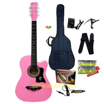 PREMIERE multifunctional acoustic guitar(pink) Price Philippines
