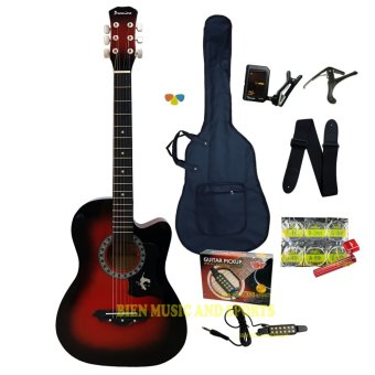 PREMIERE multifunctional acoustic guitar(red burst) Price Philippines