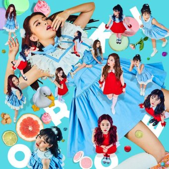 RED VELVET - ROOKIE (4th Mini Album) [Random ver.] CD+FoldedPoster+Extra Photocards Set