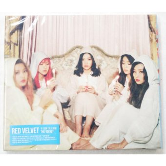 RED VELVET - The Velvet (2nd Mini Album) CD+Folded Poster+ExtraPhotocards Set
