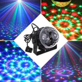 RGB Effect Stage Lighting 5w Crystal Auto Sound Magic Ball Disco Light DMX Laser party DJ Club Lamp