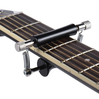 Rolling Guitar Capo Glider Easy Sliding Up & Down for Folk Classic Acoustic Guitars - intl