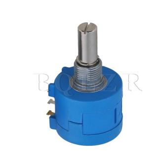 Rotary Wirewound Precision Potentiometer Pot Set of 2 Blue - picture 2