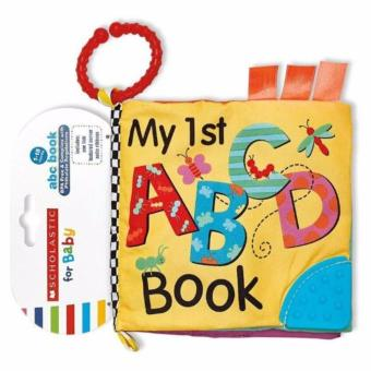 Scholastic For Baby Cloth Book with Teether - My 1st ABCD Book Price Philippines