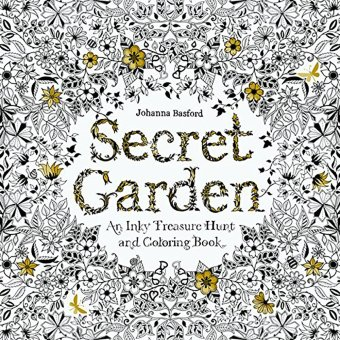 Secret Garden An Inky Treasure Hunt And Coloring Book By JohannaBasford