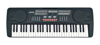 Serenata S102 54 Keys Digital Keyboard (Black)