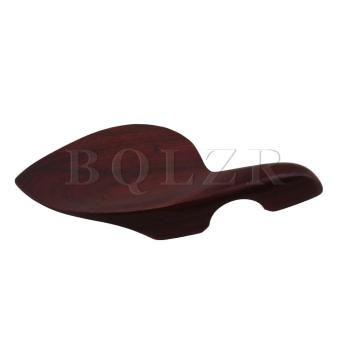 Sour Wood Chinrest Tunners Tailpiece Endpin Violin Parts Red-brown- intl - 5