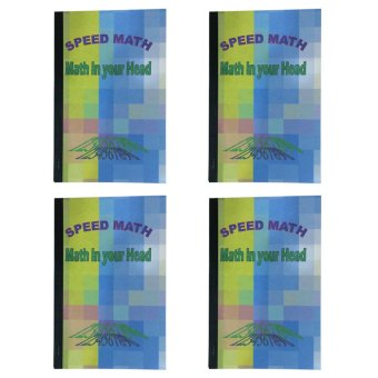 Speed Math Book Set of 4 (Multicolor)