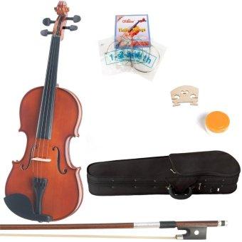 Streben Violin by ASIPIRE,4/4 Natural Wood,Glossy