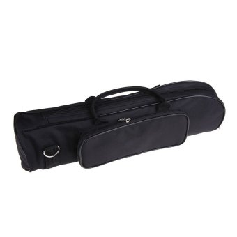 Sworld Brand New Senior Padded Trumpet Soft Case Nylon Gig Bag(Black) (Intl)