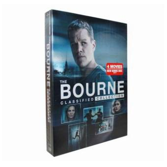 The Bourne Identity - Complete 1-4 Film Collection DVD, 5-Disc BoxSet - intl