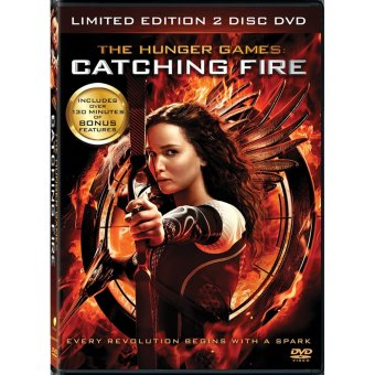 The Hunger Games: Catching Fire Limited Edition (2013) 2-Disc DVD