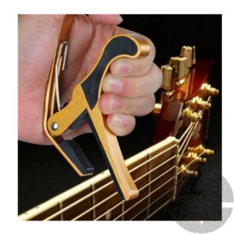 Thomson Capo for guitar (Gold) - 2