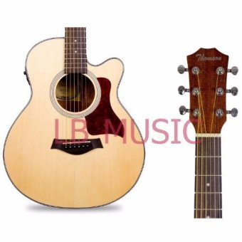 Thomson GS mini 3/4 w/ pickup and built-in tuner sprucetop acousticguitar package (Natural) - 2