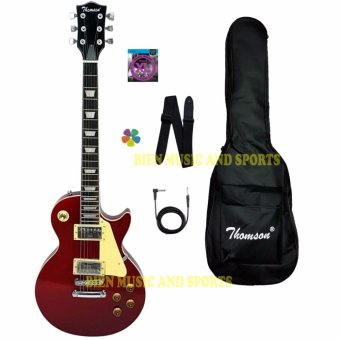 Thomson Les Paul Bolt-on Electric Guitar (WINE RED)