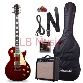 Thomson Les Paul Bolt-on with 15watts amp Package Electric Guitar(Wine Red)