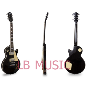 Thomson Les Paul Set Neck with 40watts amp Package Electric Guitar(Black) - 4
