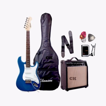 Thomson ST-1 Electric Guitar Package with Tuner (Blue)