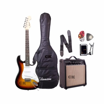 Thomson ST-1 Electric Guitar Package with Tuner (Sunburst)