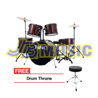 Trak JBP1601A 5pc Drumset (Red)