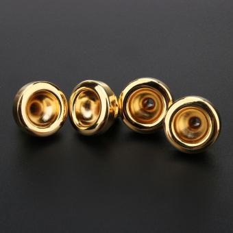 Trumpet Mouthpiece set 3C 5C 7C 1-1/2C Trompeta Brass Sliver Gold Mouthpiec - 2