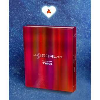 TWICE - SIGNAL (4th Mini Album) [A ver.] Folded Poster + Pre-orderBenefits + Free Gift