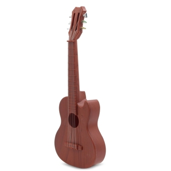 Ukelele Guitar with 4 Strings Colorful Lovely Musical InstrumentGuitars Christmas Gift(Mahogany) - intl
