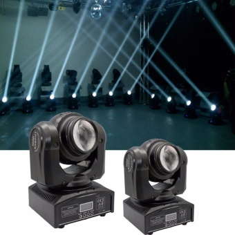 U`King Double Side Moving Head Light Beam Stage Light Led Projection Party Light Disco DJ Club Bar Lamp 70w DMX512 Sound Active Control Nightclub Effect Lighting - intl
