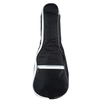 Ukulele Small Guitar Piano Thick Cotton Bale Pack (Black) - INTL
