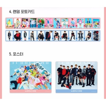 WANNA ONE - 1x1=1 (TO BE ONE) [Sky ver.] (1st Mini Album) CD +Folded Poster + Free Gift - intl - 5