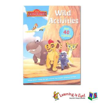 WS Disney The Lion Guard - Wild Activities