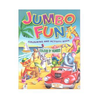 WS Jumbo Fun Coloring Activity Book Beach Green