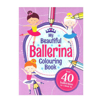 WS My Coloring Book For Girls Set of 4 - picture 2