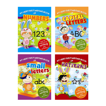 WS My Very First Writing Book Set of 4 (Capital Letters